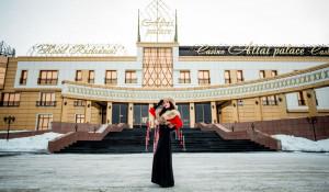 """На конкурсе красоты """"Королева Altai Palace""""."""