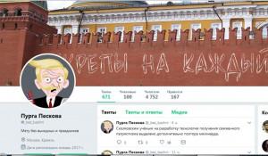 В сети оценили шутку Путина про несущего пургу Пескова.