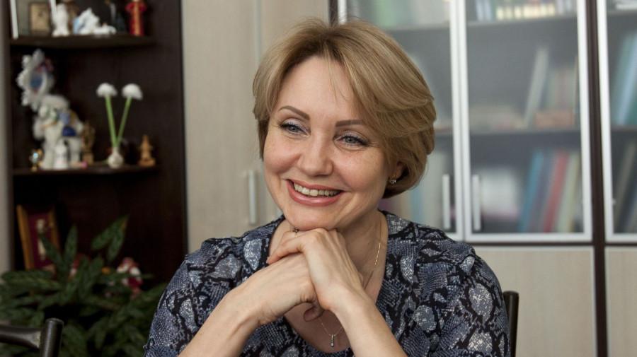 Директор Алтайской краевой библиотеки им. Шишкова Татьяна Егорова.