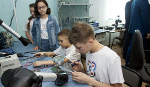 """Открытие технопарка """"Кванториум 22"""" в Барнауле."""
