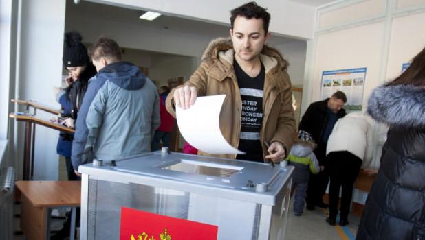 Выборы президента 2018 в Барнауле.