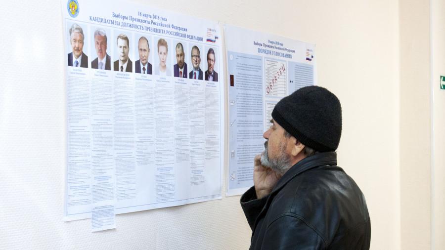 Выборы президента РФ 2018.