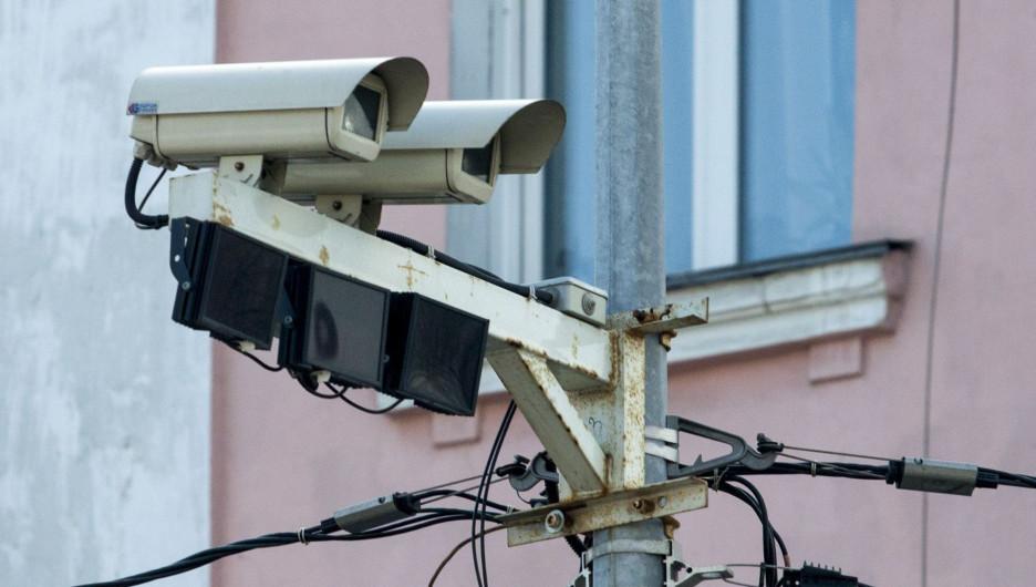 Камеры фиксации нарушений ПДД в Барнауле.