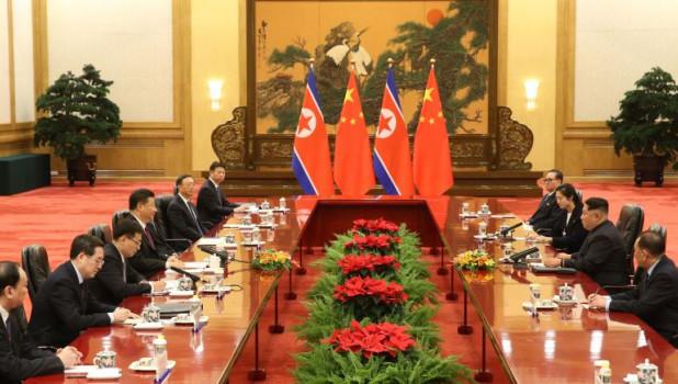 Переговоры лидеров КНДР и КНР.