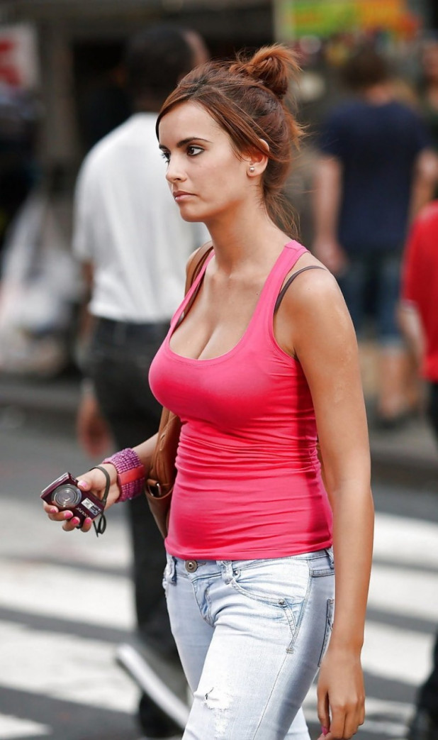 Girl With Large Nipples