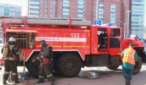 Пожарные.