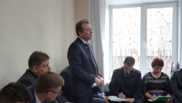 Вячеслав Новиков, глава Октябрьского района.