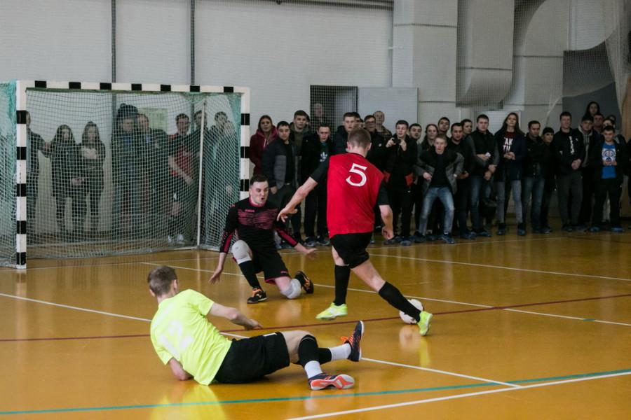 Финал краевого кубка по мини-футболу в Барнауле