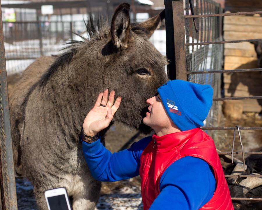 Позитивные снимки из Барнаульского зоопарка.