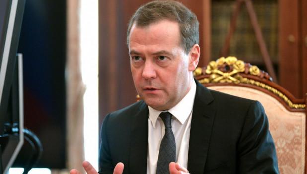 Председатель правительства РФ Дмитрий Медведев.