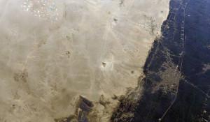 Египетские пирамиды из космоса.
