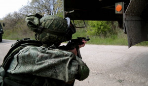 Российские военные.