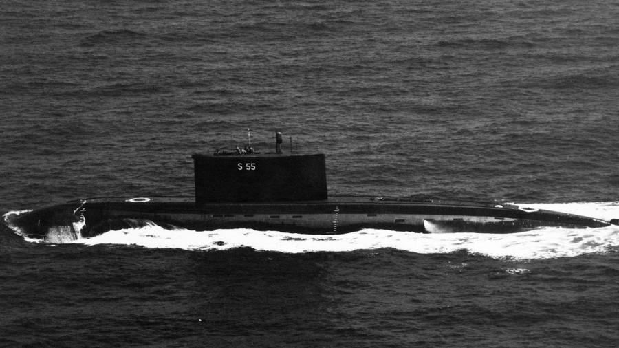 Российская подводная лодка.