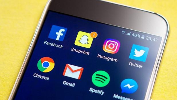 Приложения. Instagram. Facebook.Телефон.