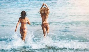 Море. Лето. Пляж. Отдых.