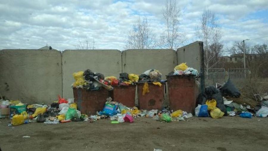 Свалка в Рубцовске