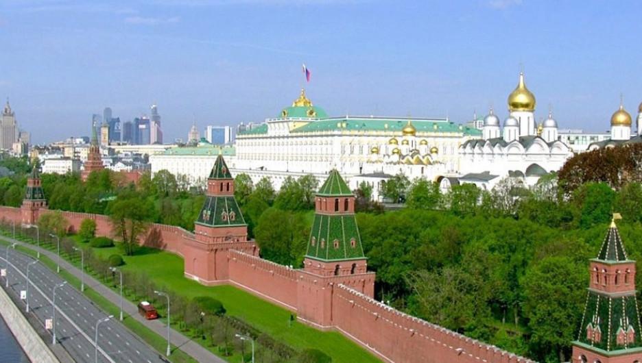 Кремль, московская резиденция.