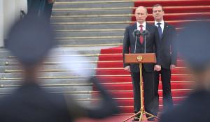 Церемония вступления Владимира Путина в должность президента РФ, 2012 год.