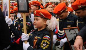 """""""Бессмертный полк"""" в Барнауле. 9 мая 2018."""