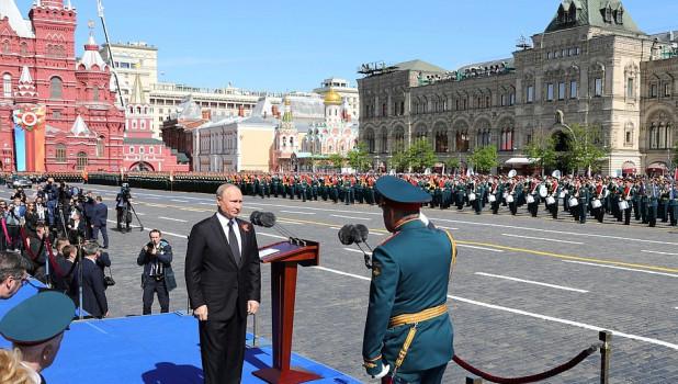 Парад Победы в Москве.