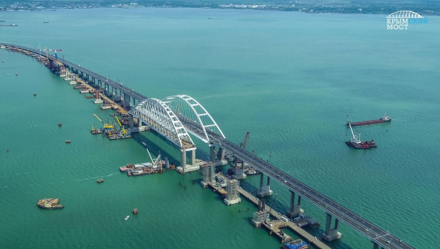 Крымский мост.