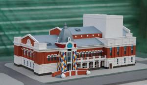 """Строительство театра кукол """"Сказка"""". Май 2018 года."""