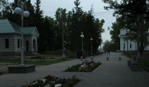 Нагорный парк. Барнаул.