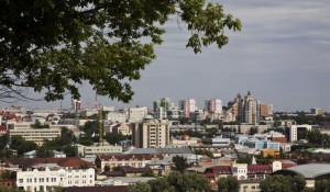 Лето в Барнауле.