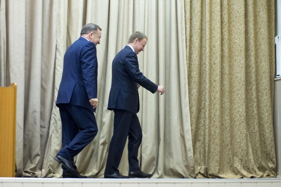 Виктор Томенко и Александр Карлин.