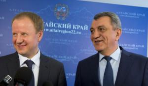 Виктор Томенко и Сергей Меняйло.