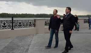 Виктор Томенко и Сергей Дугин.