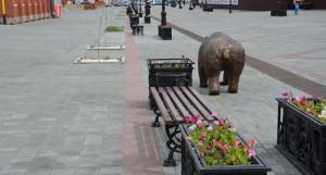 """Барнаульский """"Арбат"""" на улице Мало-Тобольской."""