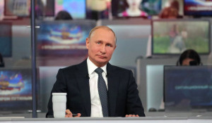 """""""Прямая линия"""" с Путиным. 7 июня 2018 года."""