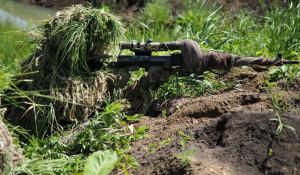 Российский снайпер.