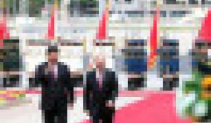 Путин и Си Цзиньпин в Китае.