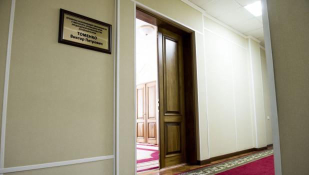 Кабинет Виктора Томенко.