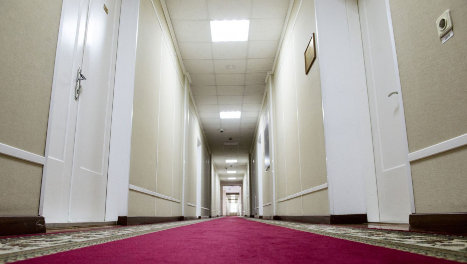 Коридоры власти. В правительстве Алтайского края.