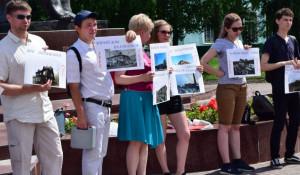 Митинг в поддержку памятников архитектуры