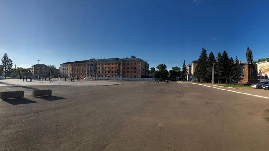 Площадь им. Ленина в Рубцовске