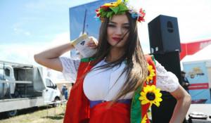 """Прекрасные девушки """"Дня сибирского поля-2018"""""""