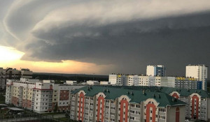 Шторм в Барнауле, 23 июня 2018.