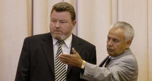 Михаил Евдокимов и Александр Назарчук в 2004 году.