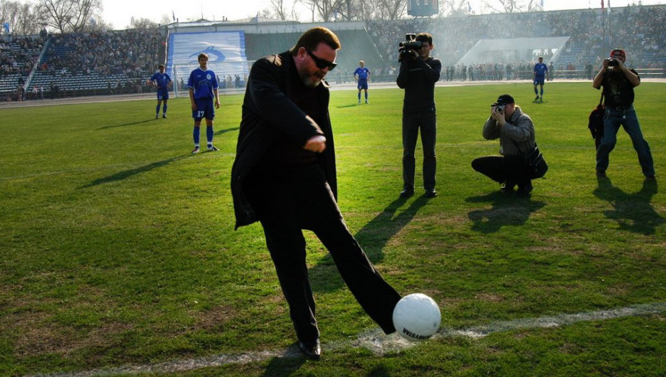 В 2004 году. Михаил Евдокимов.