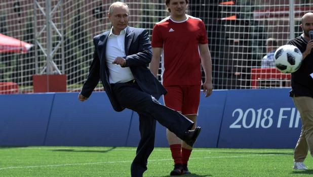 Путин высказался о форме украинской сборной по футболу