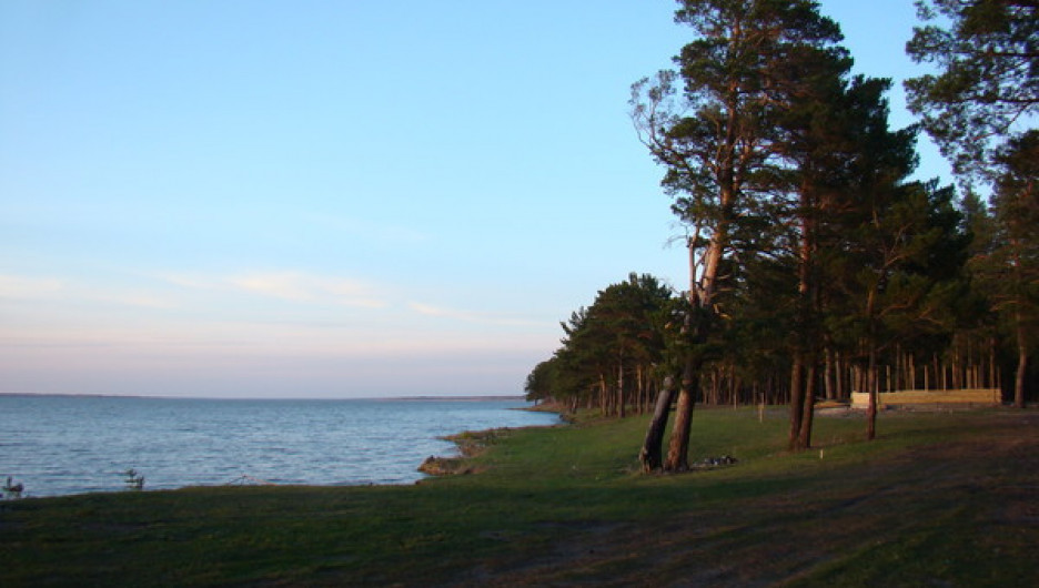 Озеро Горькое-Перешеечное.