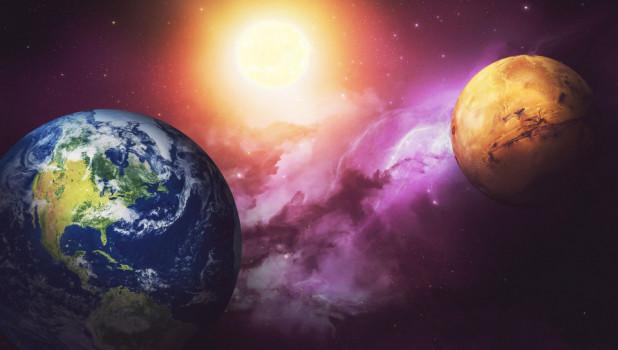 Планеты. Марс. Земля
