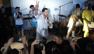 Александр Ревва выступил в Яровом 13 и 14 июля 2018 года.