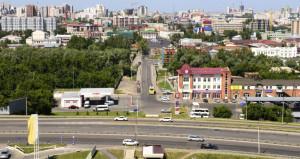 Вид на Барнаул.