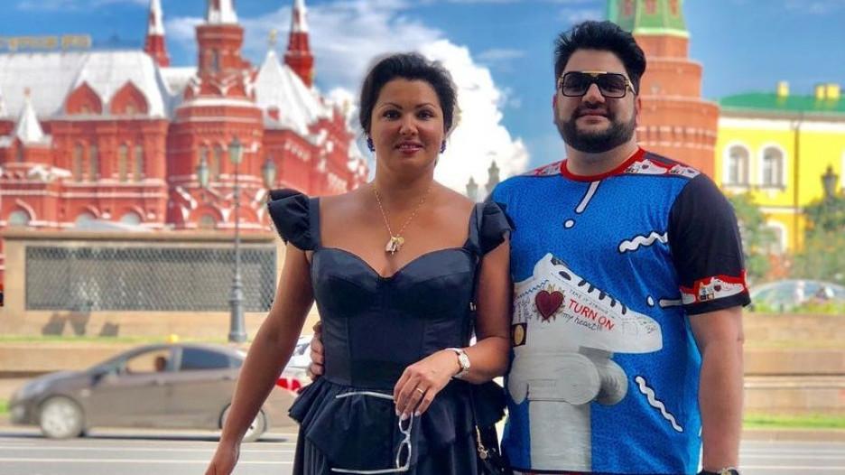 Анна Нетребко и Юсиф Эйвазов.