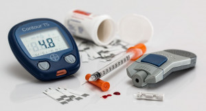 Диабет, глюкометр.